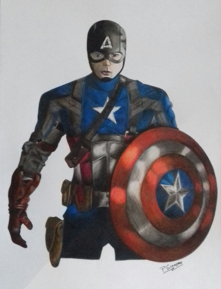 Captain America by paulinee7